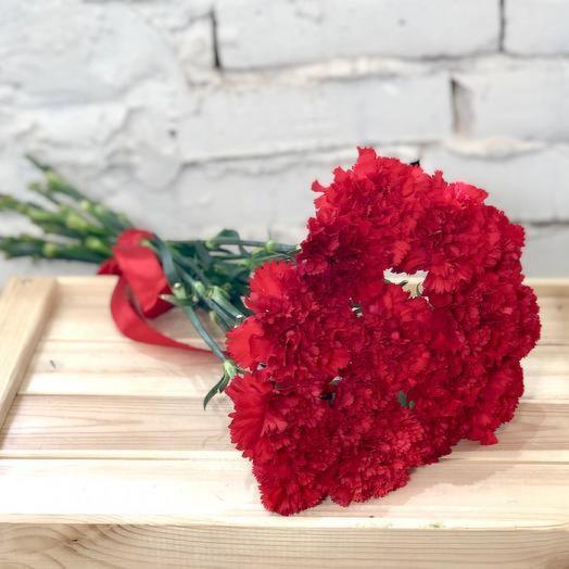 Ко Дню Победы 15 красных гвоздик
