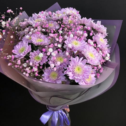 Черничная полянка: букеты цветов на заказ Flowwow