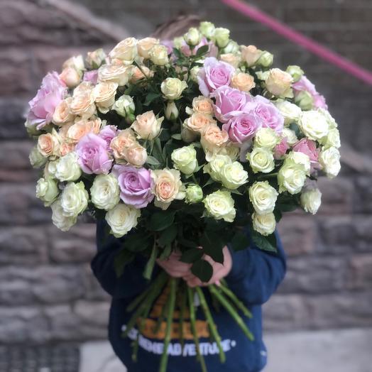 21 кустовая Роза MIX