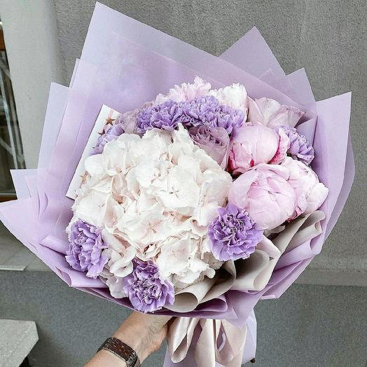 Фиолетовый: букеты цветов на заказ Flowwow