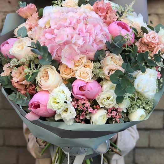 """Букет цветов """"фламинго"""""""