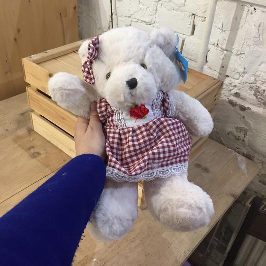 Плюшевая медведица