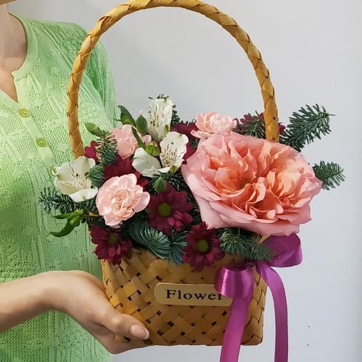 Flower 💐Корзина с цветами