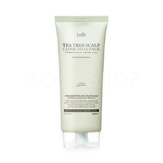 Маска-пилинг для кожи головы Lador Tea Tree Scalp Clinic Hair Pack