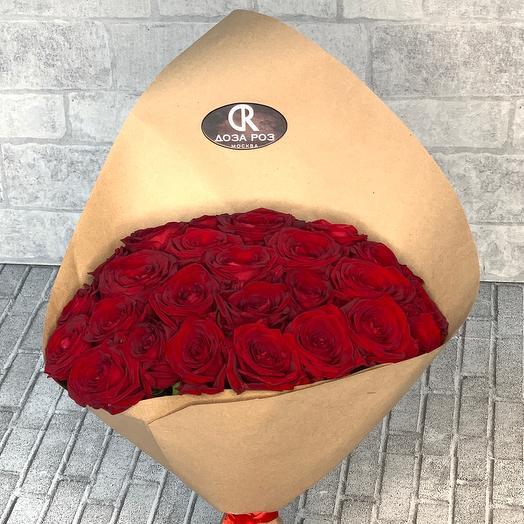 Красная Роза 25 ст