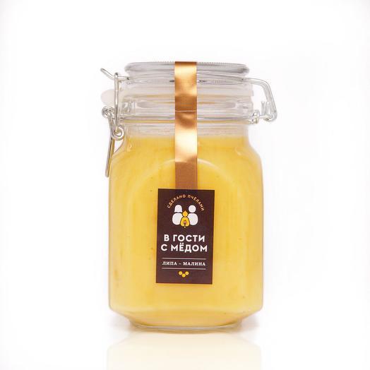 "Мёд ""Липа-Малина"" (пищевой пластик 1 кг)"