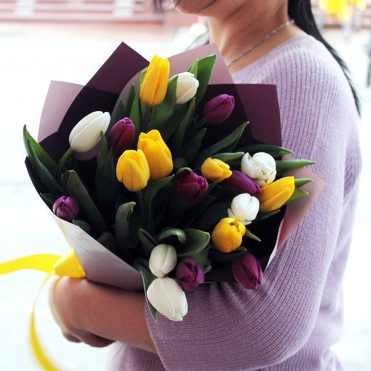 Тюльпаны микс 19