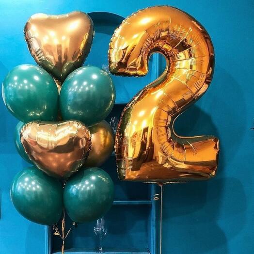 набор шаров 25