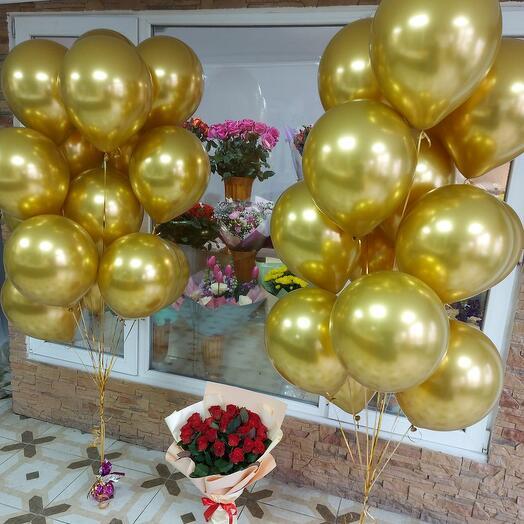 Набор Цветы и шары