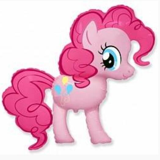 Шар фольга Милая пони Пинки Пай (G36)