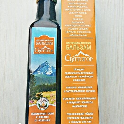 Алтайский бальзам Святогор, 250 мл