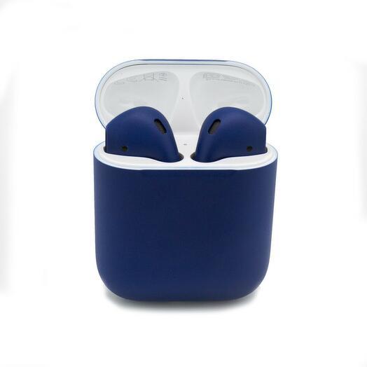 Беспроводные наушники Apple AirPods 2 Matte Blue Синие Матовые