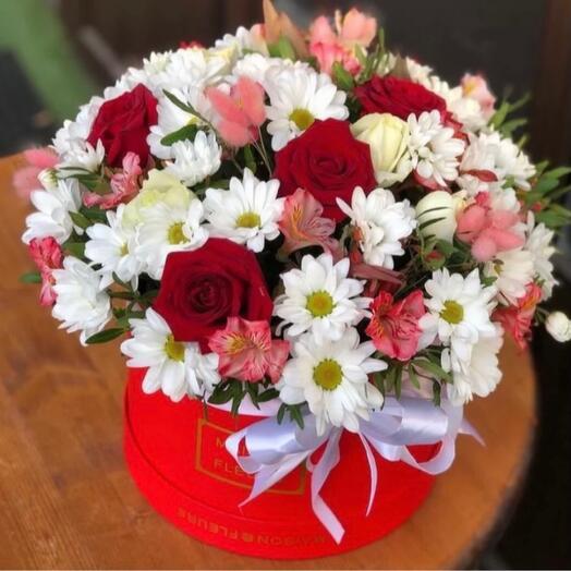Цветы в коробке️