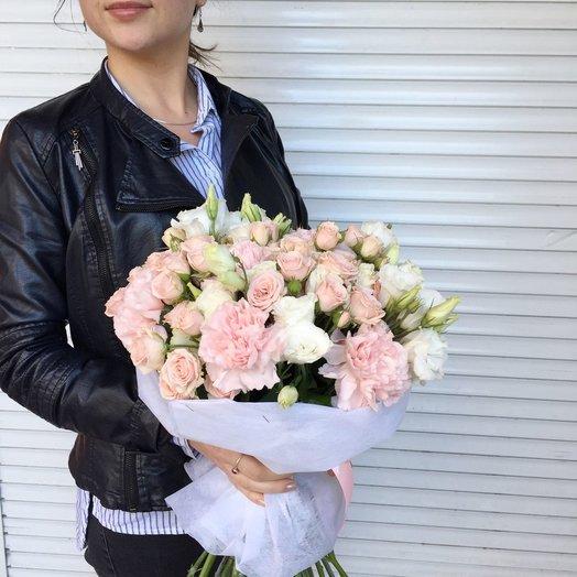 Букет Анжелика: букеты цветов на заказ Flowwow