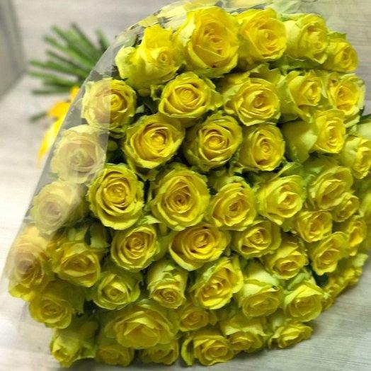 Yellow 51: букеты цветов на заказ Flowwow