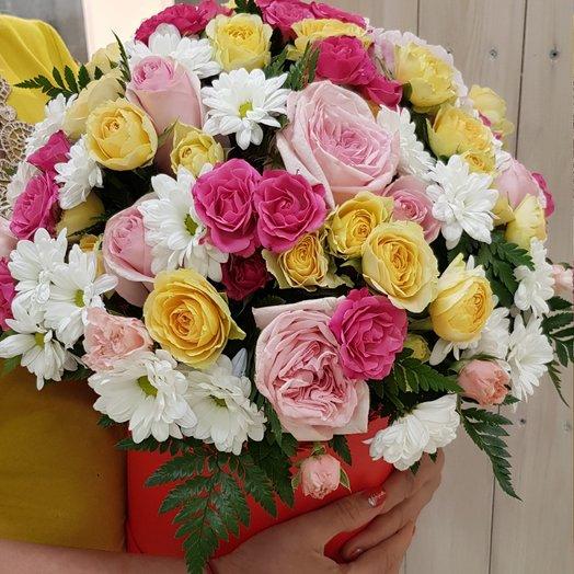 Милой моей: букеты цветов на заказ Flowwow