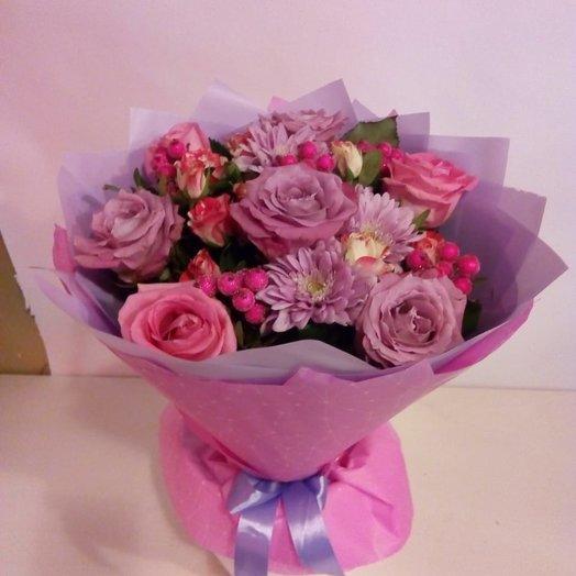 Сиреневый восход: букеты цветов на заказ Flowwow