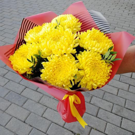 Букет из крымских хризантем: букеты цветов на заказ Flowwow