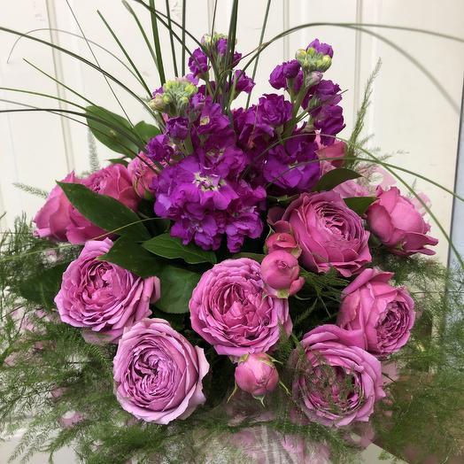 Букет «Розовое наслаждение»: букеты цветов на заказ Flowwow