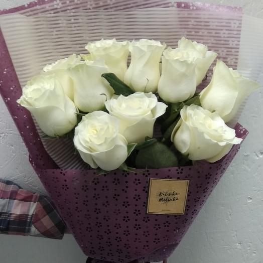 Букет из 11 роз эквадор: букеты цветов на заказ Flowwow