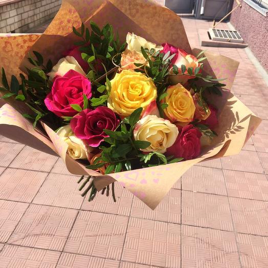 Яркая красотка: букеты цветов на заказ Flowwow