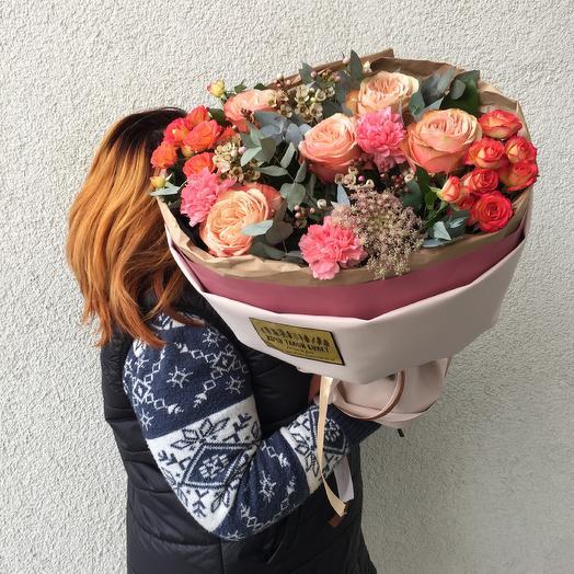 Капучино 😜: букеты цветов на заказ Flowwow