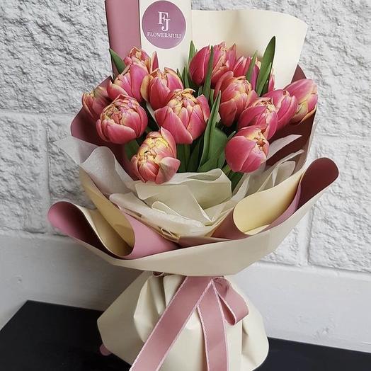 Букет «Tulip»: букеты цветов на заказ Flowwow