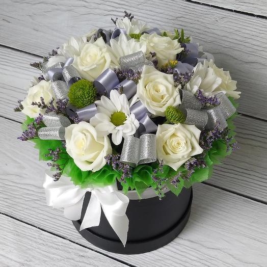 Коробочка Летний поцелуй: букеты цветов на заказ Flowwow