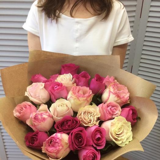 Розовые мечты): букеты цветов на заказ Flowwow
