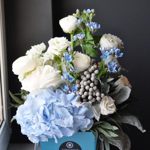 Незабудка - твой любимый цветок: букеты цветов на заказ Flowwow