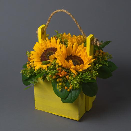 """Букет """"Желтый"""": букеты цветов на заказ Flowwow"""