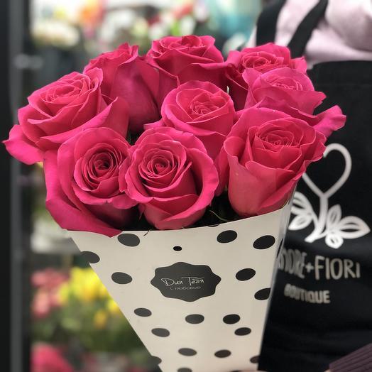 Моно 9: букеты цветов на заказ Flowwow