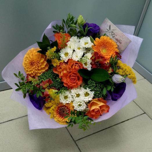 Букет  027: букеты цветов на заказ Flowwow
