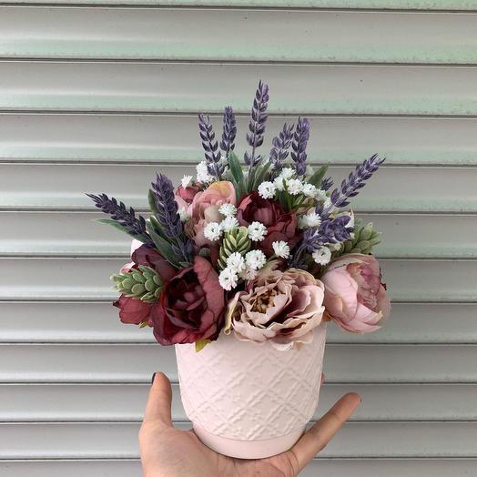 Композиция «Элиза»: букеты цветов на заказ Flowwow
