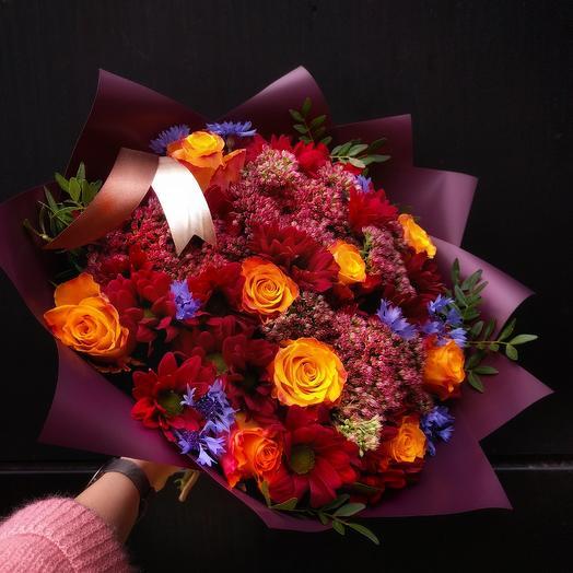 Gold and Jasper: букеты цветов на заказ Flowwow