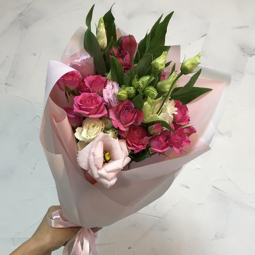 Букетик-комплимент: букеты цветов на заказ Flowwow