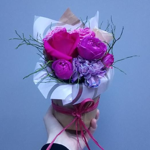 Сладкий поцелуй: букеты цветов на заказ Flowwow