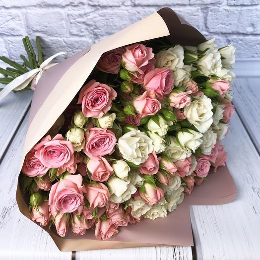 Букет «Дабл»: букеты цветов на заказ Flowwow