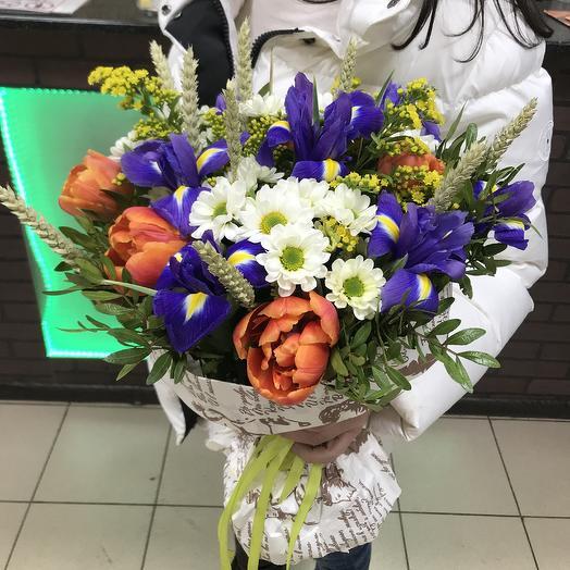 Весенний мотив: букеты цветов на заказ Flowwow