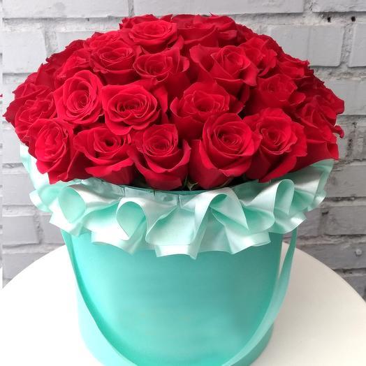 Ред ЛЮКС: букеты цветов на заказ Flowwow