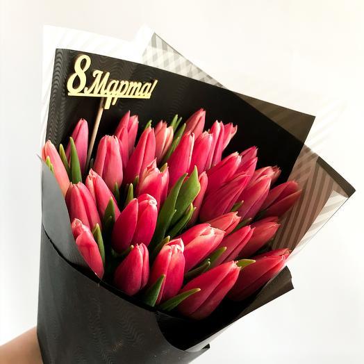 51 💕 тюльпан: букеты цветов на заказ Flowwow