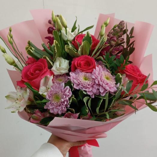 Для яркого дня: букеты цветов на заказ Flowwow