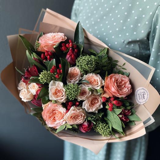 Букет5: букеты цветов на заказ Flowwow