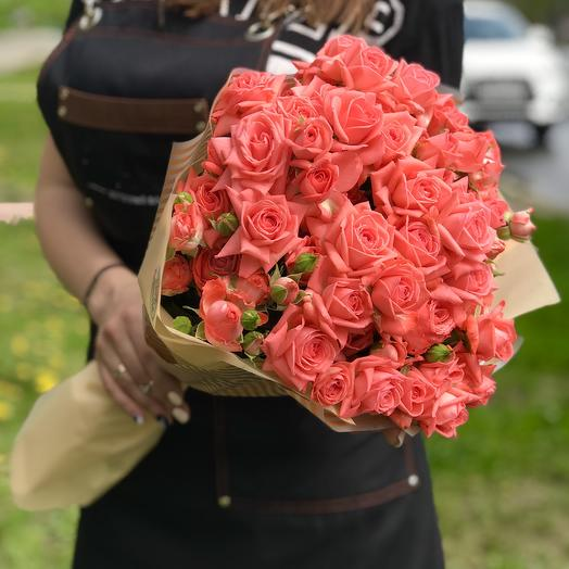 🌹Букетик из кустовой розы 🌹
