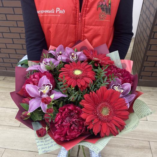 Bouquet 1154: flowers to order Flowwow