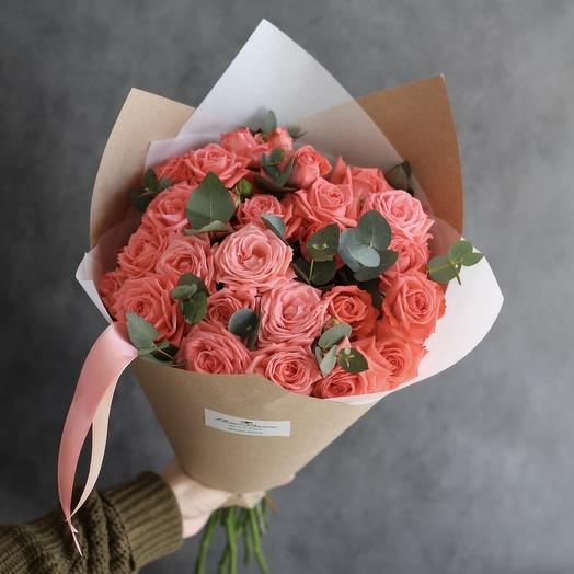 "Неж Delicate bouquet ""Marshmallow"" Rose bush"