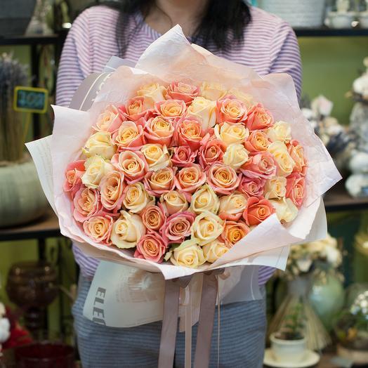Букет из роз Валерия