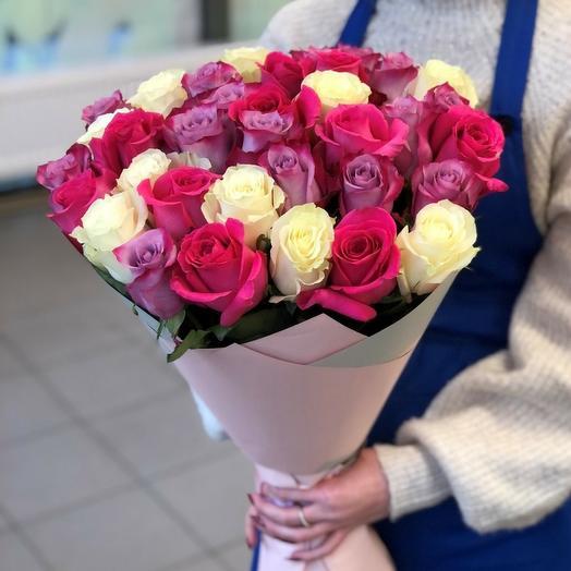 31 роза микс