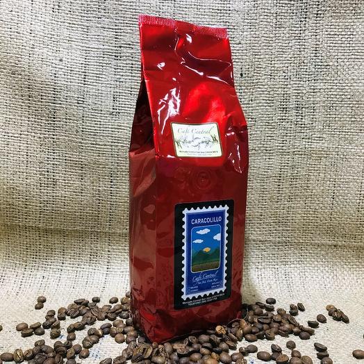 Кофе в зёрнах Caracolillo (Peaberry) Cafe Central Коста-Рика 500 грамм