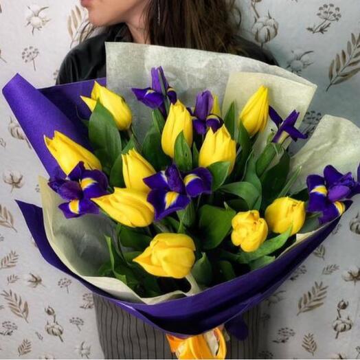 Букет «Аромат весны»